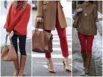Коричневый сочетается – с чем носить темно- и светло-коричневый, кому он идет, как сочетать с красным