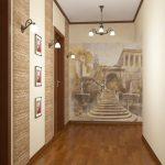 Коридор в квартире из камня – Коридор в квартире камнем. Современные варианты отделки, модные тенденции для стен в прихожей с фото