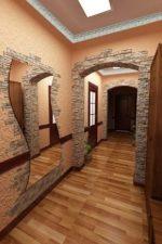 Короед в интерьере – декоративная фактурная смесь для стен в квартире и частном доме, примеры использования в интерьере