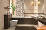 Красивая плитка в ванной комнате фото