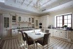 Красивая столовая – Дизайн кухни-столовой-гостиной; красивый интерьер кухни, совмещенной со столовой на фото