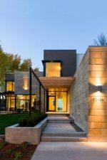 Красивые дома в современном стиле – дизайн интерьера коттеджей, одноэтажные загородные особняки, особенности архитектуры, красивые примеры