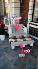Кресло из паллет – Кресло из паллет на колесиках с подушками – купить в интернет-магазине на Ярмарке Мастеров с доставкой — 6UDHPRU