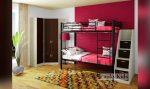 Кровати двухъярусные со шкафом – Двухъярусные кровати со шкафом от 13500 руб. Купить двухъярусную кровать со шкафом — Московский Дом Мебели