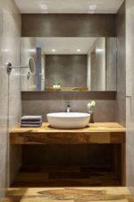 Круглые раковины для ванной – полукруглая конструкция для ванной комнаты, стеклянный умывальник, раковина «Нептун», модели из керамики размером 40 см