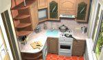 Кухни дизайн 3 2 – фото кухонь 2 матера на 2 метра, дизайн угловых и прямых интерьеров, планировка, видео-инструкция