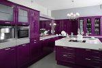 Кухни дизайн фото фиолетовые – Кухня фиолетового цвета — 50 красивых фото идеального сочетания в интерьере