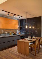 Кухни фото в двух цветах фото – 50 фото гарнитуров и идей дизайна интерьера, советы по оформлению