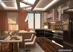 Кухни в коттеджах интерьер фото – Современный интерьер кухни в частном доме – новые решения и идеи дизайна