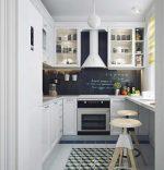Кухня 24 кв м с навесным котлом идеи для дизайна с фото – проект планировки малогабаритных кухонь с холодильником, стиральной машиной и газовой колонкой