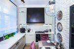Кухня 5 9 кв м дизайн – Дизайн интерьера маленькой кухни 9.5 кв.м, ее фото. Особенности дизайна, планировка, советы.