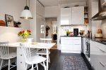 Кухня белая скандинавский стиль – Кухня в скандинавском стиле, советы дизайнера по оформлению интерьера