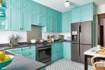 Кухня бирюзового цвета – Кухня в бирюзовом цвете – особенности, сочетание с другими цветами, фото интерьеров
