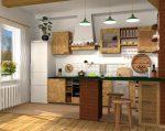 Кухня деревенский стиль фото – Кухня в стиле кантри — фото интерьера, идеи дизайна для дома и дачи, как оформить в деревенском стиле, цветовые сочетания + фото