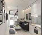 Кухня гостиная 20 кв м – Дизайн кухни-гостиной площадью 19-20 кв. м (73 фото): планировка совмещенных помещений