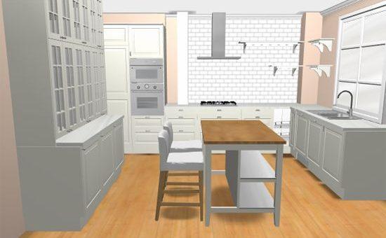 Кухня икеа проектировщик