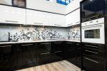 Кухня интерьер черно белая – Черно-белая кухня, преимущества дизайна — фото примеров