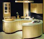 Кухня круглая – Овальные, круглые, дизайн интерьера, радиусные, полукруглые кухни, примеры фото и видео