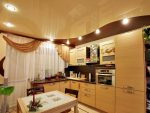 Кухня квадратная дизайн – Дизайн кухни 9 квадратных метров в молочном цвете — Kuhni4u.com