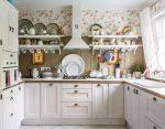 Кухня прованс фисташковая – Французский шик на 5 квадратных метрах. Фисташковая кухня в стиле Прованс с холодильником и газовой колонкой | Какую кухню купить?
