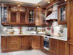 Кухня с карнизом фото