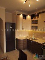 Кухня с развернутым углом – Мебель для кухни с эркером, планировка кухни, как спланировать кухонный гарнитур, подсветка верхних шкафов, замеры кухни, Александр Стрижов