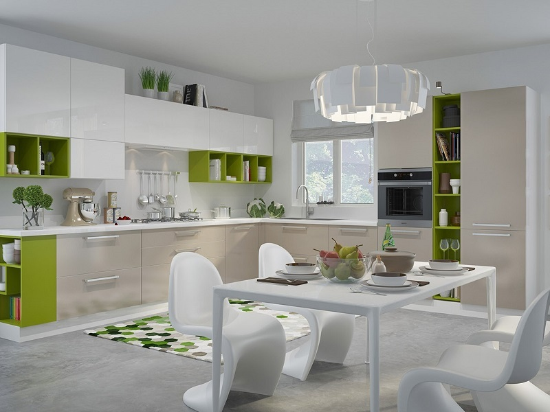 кухня стиль 2018 дизайн кухни 2019 2020 модные кухни и стильный