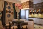 Кухня в восточном стиле дизайн фото