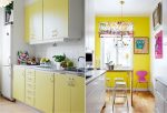 Кухня в желтом цвете фото – фото цвета в дизайне интерьера, стены ярко желтого цвета, с чем сочетать
