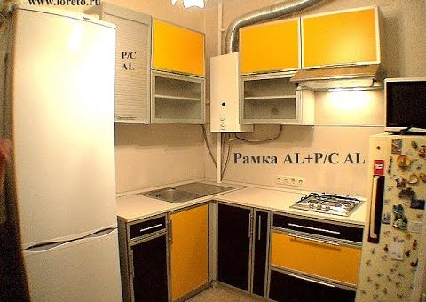 Кухня хрущевка с колонкой дизайн фото – Дизайн маленькой кухни в хрущевке: с газовой колонкой, холодильником, оформление, фото. Дизайн кухни 4, 5 5, 6 кв м