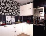 Кухонный гарнитур черно белый какие обои подойдут – Кухонный гарнитур черно белый какие подойдут обои. Расцветка для белой кухни. Недостатки флизелиновых обоев