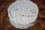 Квиллинг из газетных трубочек – Плетение из бумажных трубочек с элементами квиллинга. Лукошко. Мастер класс