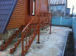 Лестница на второй этаж на улице в частном доме – на второй этаж для дачи, в частный дом, противоскользящая резиновая плитка, изготовление, как сделать своими руками деревянную и чем покрыть