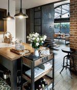 Маленькая кухня в стиле лофт – Дизайн интерьера маленькой кухни: обстановка, стили оформления — современный, кантри, лофт, визуальное увеличение, цветовые решения