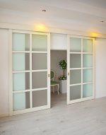 Межкомнатные раздвижные двери внутри стены – Раздвижные перегородки очень универсальны! 50 фото в интерьере. Двери раздвижные межкомнатные внутри стены