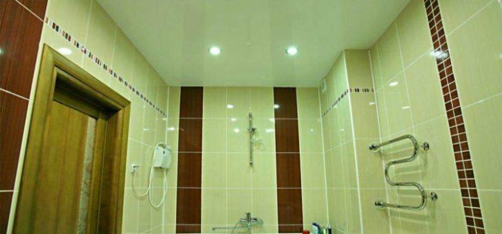 Натяжной белый потолок в ванной – Натяжной белый потолок в ванной. Достоинства и недостатки натяжных потолков в ванной. Что такое натяжные потолки