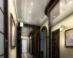 Натяжные потолки в узком коридоре фото