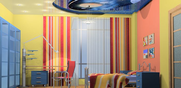 Навесные потолки фото для детской – Подвесные потолки в детской комнате (45 фото): навесные потолки для спальни