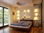 Ниши из гипсокартона в спальне фото – видео-инструкция по монтажу гипсокартонных конструкций своими руками, особенности установки по углам, над кроватью, цена, фото