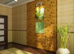 Обои бамбук в интерьере фото – характеристика материала, особенности применения, фото-идеи. Особенности бамбуковых обоев. Характеристики бамбуковых обоев и особенности применения их для отделки интерьера.Информационный строительный сайт |