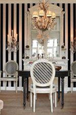 Обои черно белые для стен – сочетание покрытий для стен с черным узором или цветами в комнате, модели с белым рисунком или в полоску, идеи-2018 в интерьере