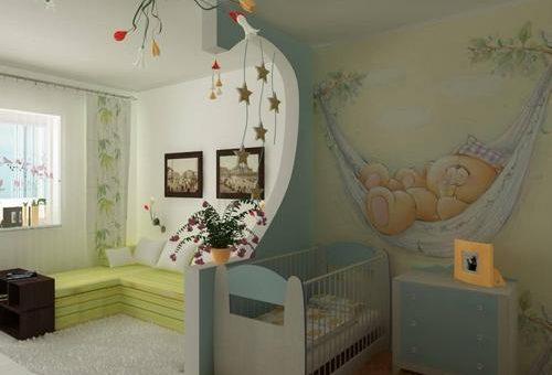 Обои для маленькой комнаты детской