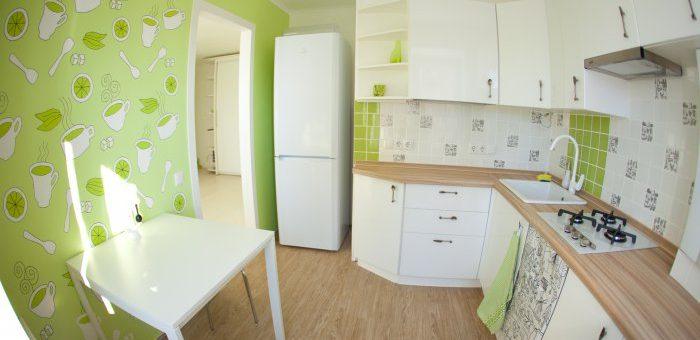 Обои комбинированные для кухни фото идеи – моющиеся, жидкие, комбинирование. Какие обои выбрать на кухню хрущевку (фото)