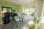 Обои спальня зеленые – какие модели подойдут для стен в интерьере спальни, с какими цветами сочетаются полотна темного и светлого оттенка в полоску