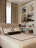 Обустройство маленькой спальни – фото интерьера в квартире 2017 года, как обустроить и спланировать, обставить комнату, новинки