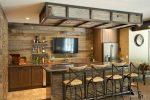 Оформление барной стойки – барная мебель в стиле «прованс», дизайн интерьера зала в квартире с барной стойкой