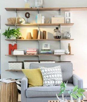 Оформление полки в гостиной – Полки в гостиную — современный дизайн (56 фото): полки на стену под телевизор в интерьере зала, настенные изделия из гипсокартона