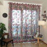Органза в гостиную фото – с вышивкой сакуры, завитками и золотистым орнаментом, как её подшить, идеи в интерьере, чем лучше вуали