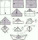 Оригами из а4 для начинающих – Оригами для детей и начинающих, как сделать поделки из бумаги, схемы сборки, модульное оригами / Ёжка