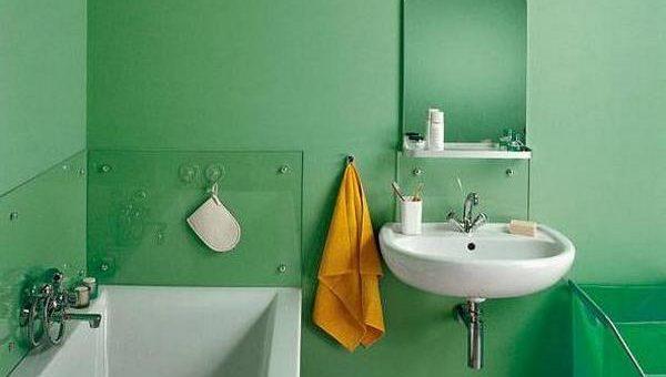 Оригинальная отделка ванной комнаты краской – Бюджетный ремонт в ванной комнате своими руками: 3 лучших технологии отделки